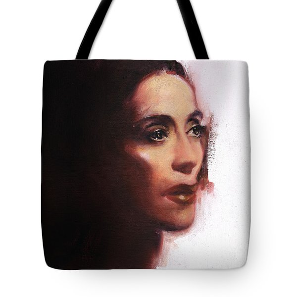 Portrait Of Martha Graham Tote Bag