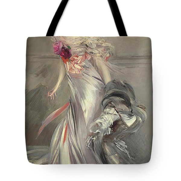 Portrait Of Marthe Regnier Tote Bag
