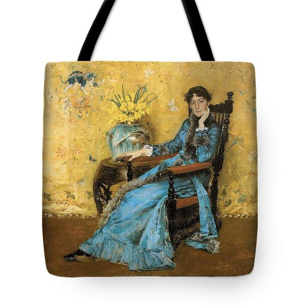 Portrait Of Miss Dora Wheeler Tote Bag