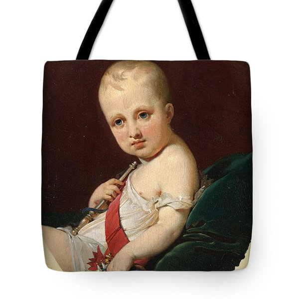 Portrait Of Napoleon Francois Joseph Charles Bonaparte King Of Rome Tote Bag