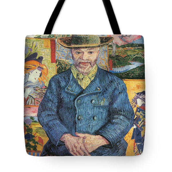 Portrait Of Pere Tanguy, 1887 01 Tote Bag