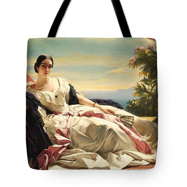 Portrait Of Princess Leonilla Tote Bag