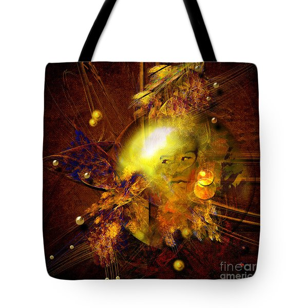 Portrait Of Reincarnated Prince Tote Bag