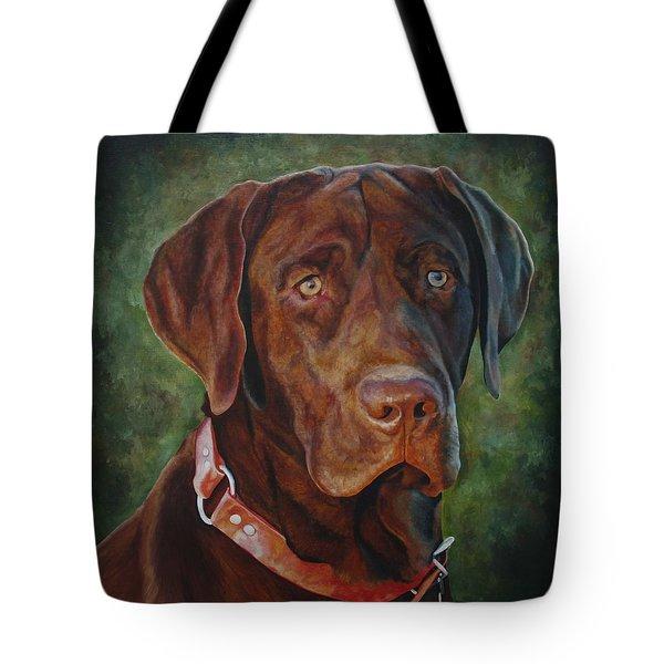 Portrait Of Remington 0094_2 Tote Bag