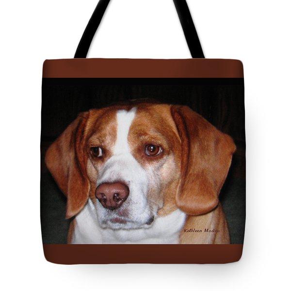 Portrait Of Rusty Tote Bag