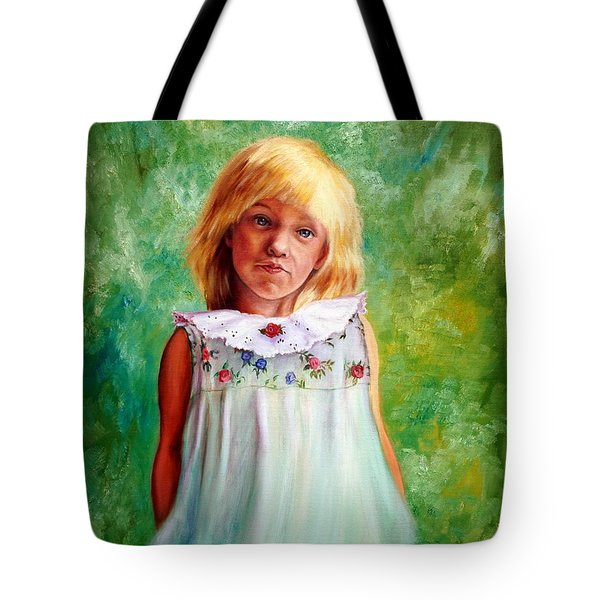 Portrait Of Sara Tote Bag