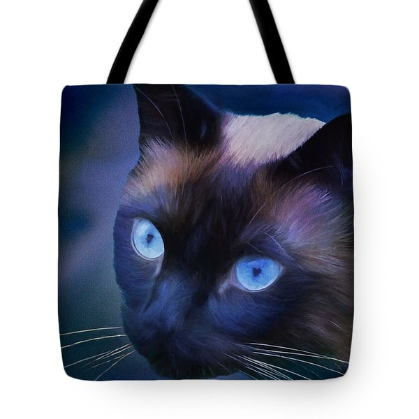 Portrait Of Sulley Tote Bag