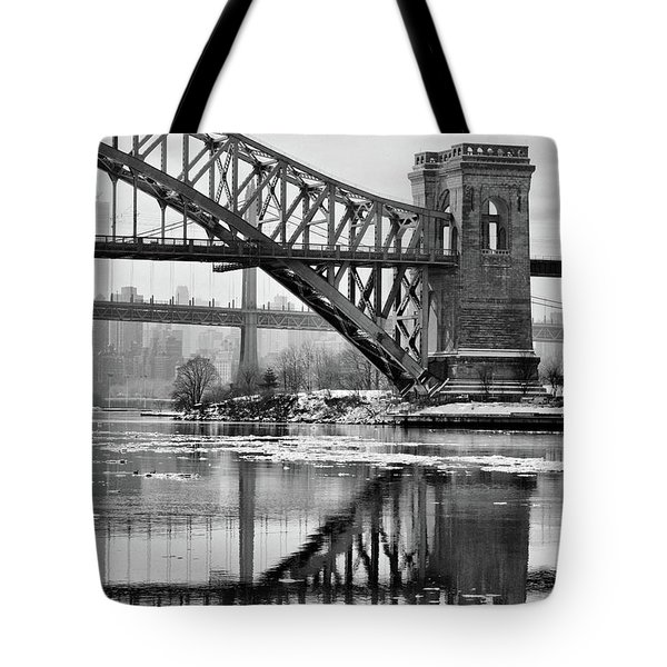 Portrait Of The Hellgate Tote Bag