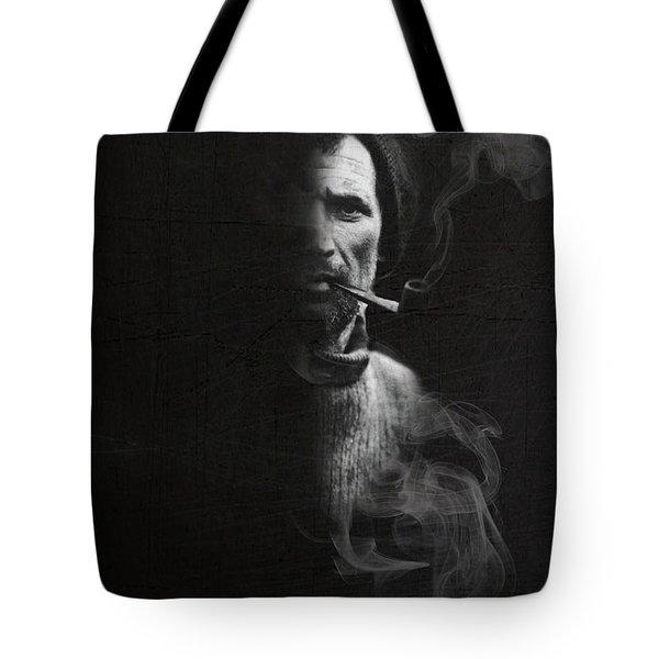 Portrait Of Tom Crean Antarctic Explorer Tote Bag