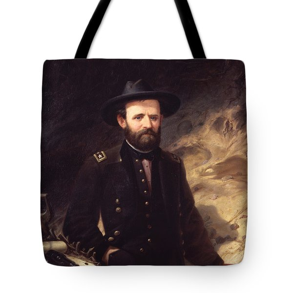 Portrait Of Ulysses S. Grant Tote Bag
