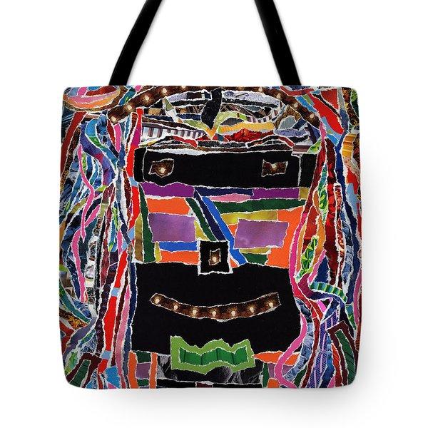 portrait of who   U  Me       or      someone U see  Tote Bag