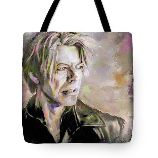 Portrait Of Bowie Tote Bag