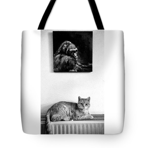 Portraitiere Mich. Jetzt.  #imhotep Tote Bag