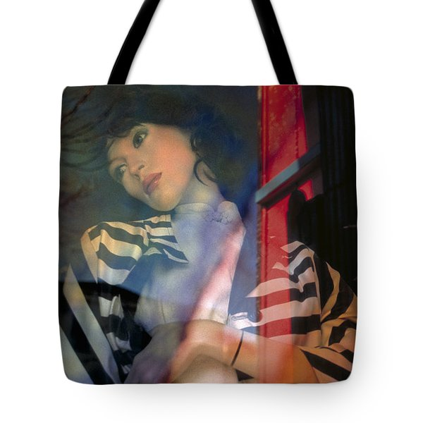 portraits fantasy mannequins photography - Reflection Tote Bag