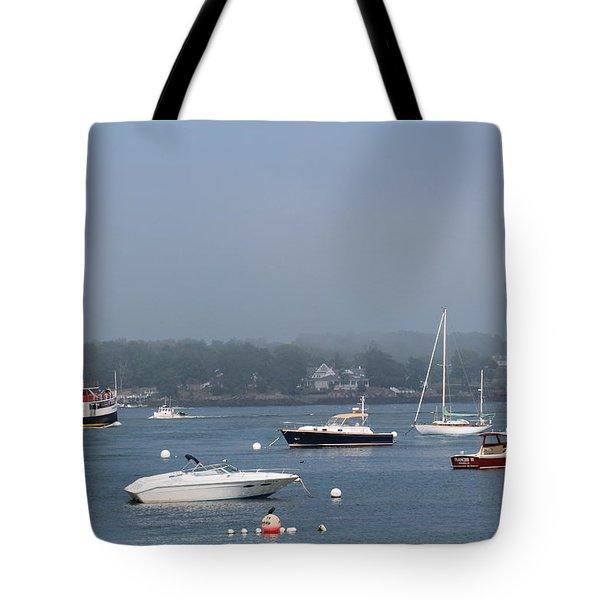 Portsmouth Harbor Nh Tote Bag