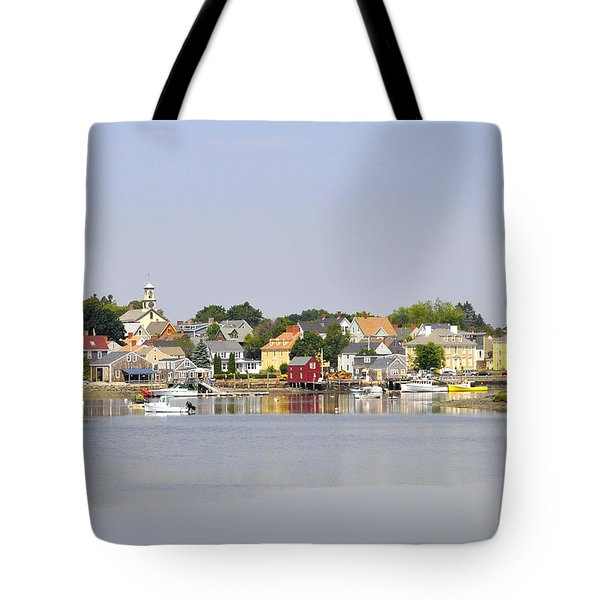 Portsmouth Nh South End Psep Tote Bag by Jim Brage