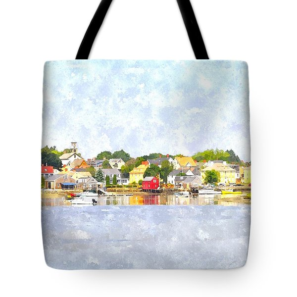 Portsmouth Nh South End Psewc Tote Bag by Jim Brage