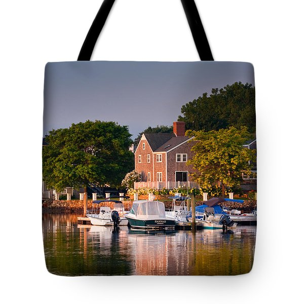Portsmouth Riverfront Tote Bag