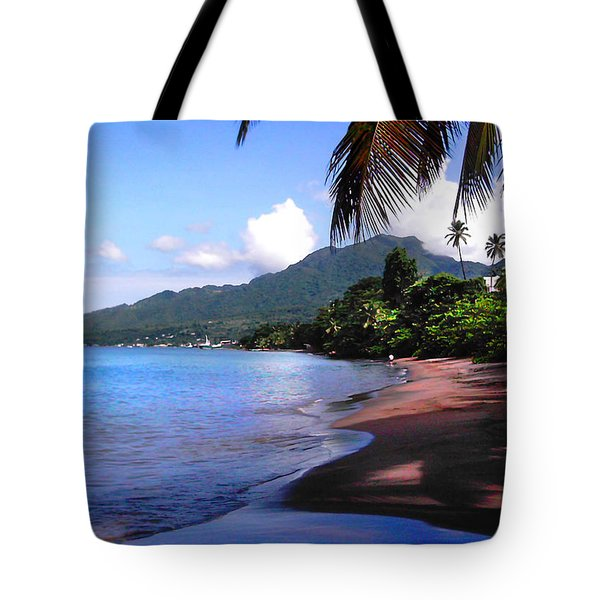 Portsmouth Shore On Dominica Filtered Tote Bag