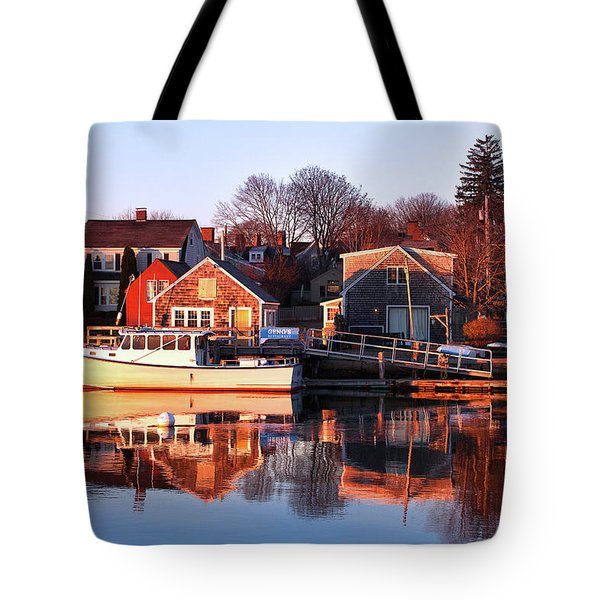 Portsmouth South End Sunrise Tote Bag