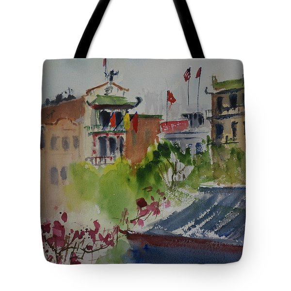 Portsmouth Square1 Tote Bag