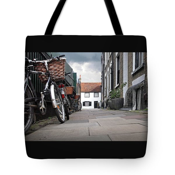Tote Bag featuring the photograph Portugal Place Cambridge by Gill Billington