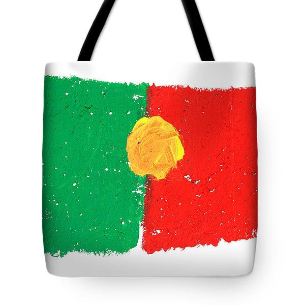 Portuguese Flag Tote Bag by Gaspar Avila
