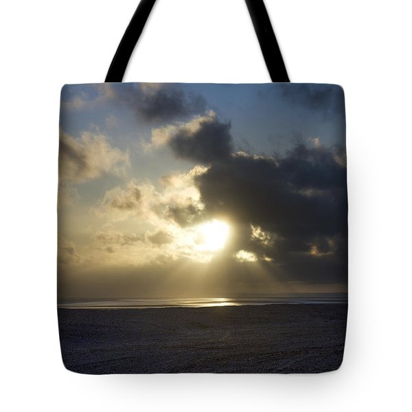 Poseidon Embellished By The Sun Tote Bag by Silvia Bruno