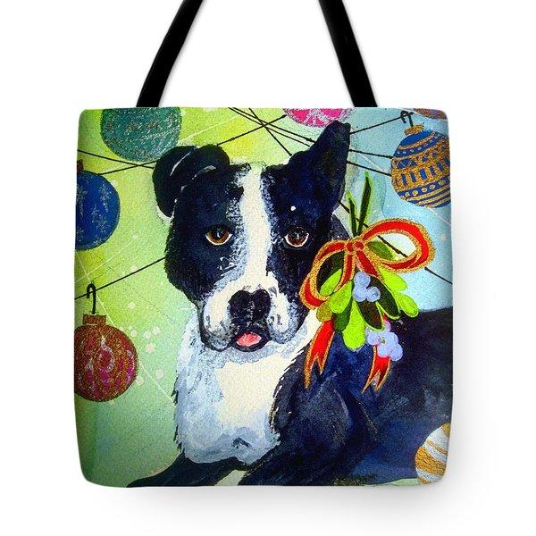 Posey At Christmas 2015 Tote Bag
