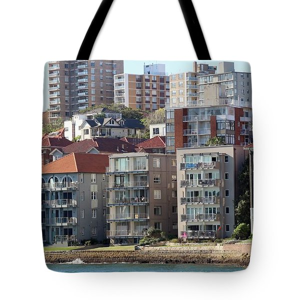 Tote Bag featuring the photograph Posh Burbs by Stephen Mitchell