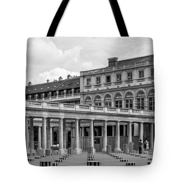 Posing For Photo Shoot At Le Palais Royal Tote Bag