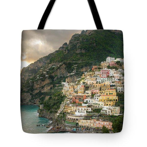 Positano Sunset Tote Bag