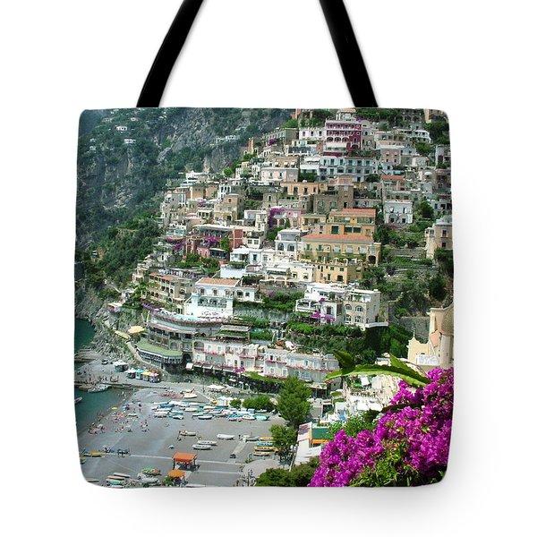 Positano's Beach Tote Bag