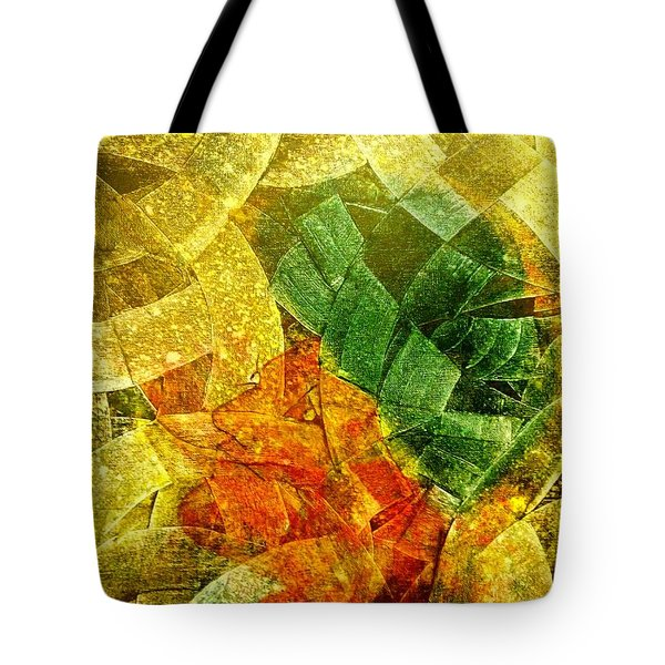 Positive Abstract Tote Bag