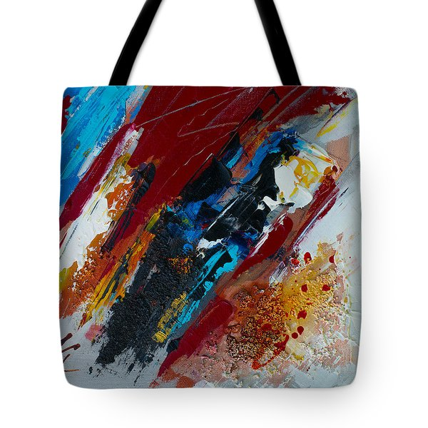 Positive Energy Tote Bag by Elise Palmigiani