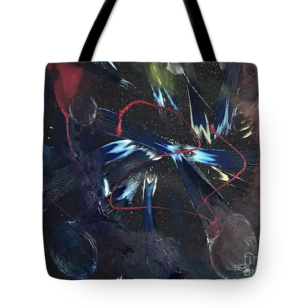 Positive Energy Tote Bag by Karen Nicholson
