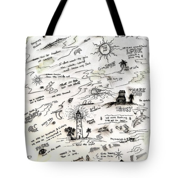 Positive Reminders Tote Bag
