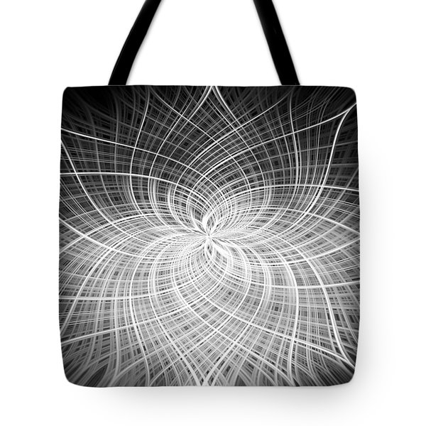 Positivity Tote Bag by Carolyn Marshall
