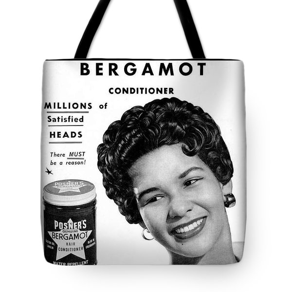 Tote Bag featuring the digital art Posner's Bergamont by Reinvintaged