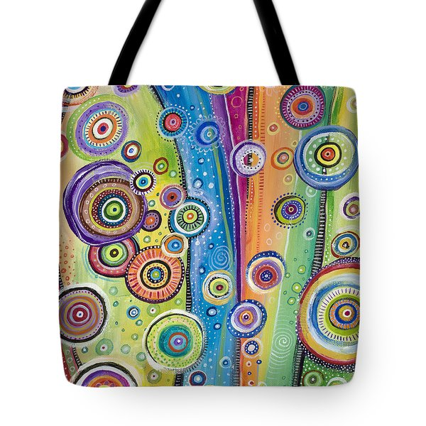 Tote Bag featuring the painting Possibilities by Tanielle Childers