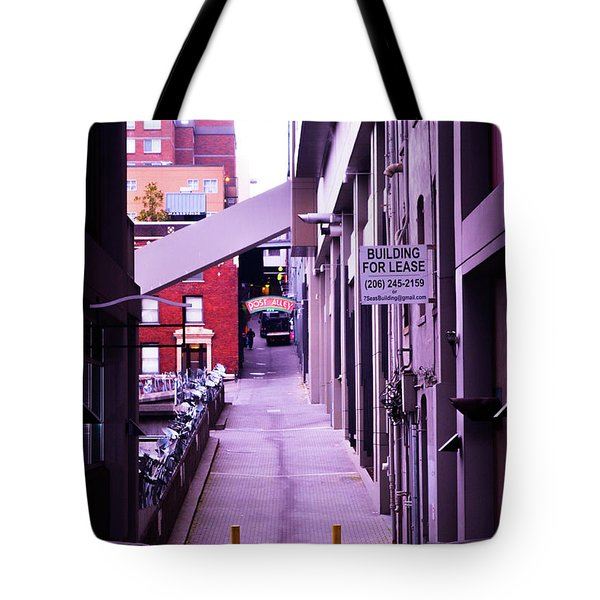 Post Alley, Seattle Tote Bag
