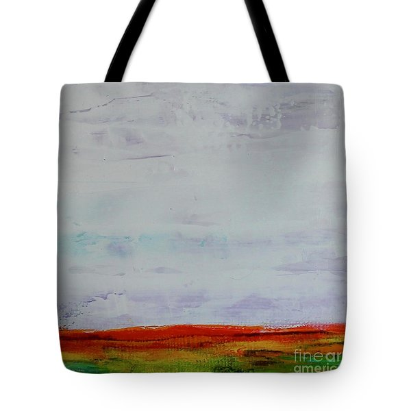 Tote Bag featuring the painting Post Apocalypse by Kim Nelson