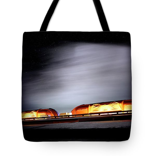 Tote Bag featuring the photograph Post-apocalyptic Cityscape - Science Fiction - Scifi by Jason Politte