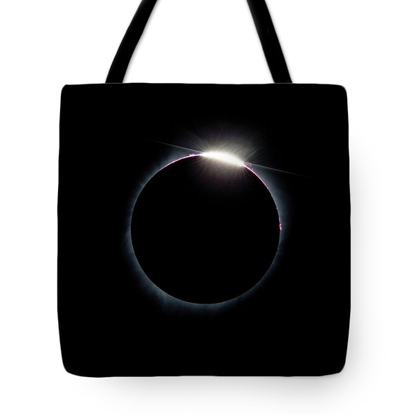 Post Diamond Ring Effect Tote Bag