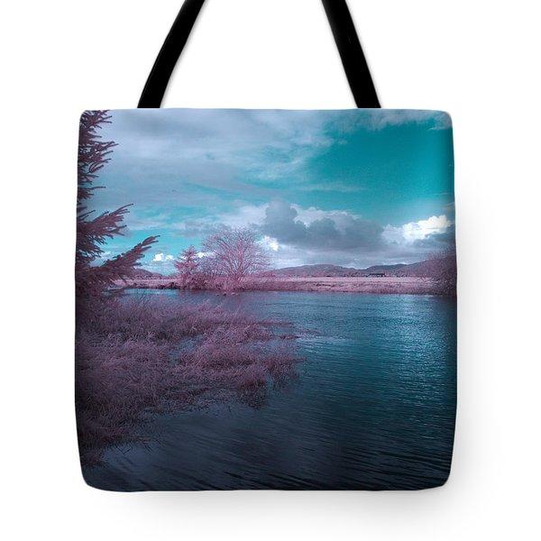 Post Flood Surreal Tote Bag