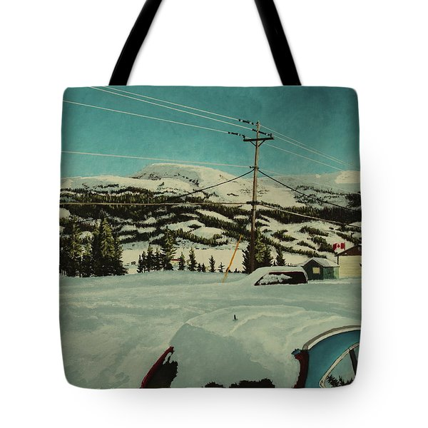 Post Hill Tote Bag