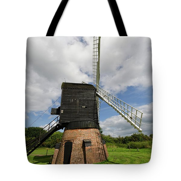 Post Mill Windmill Tote Bag by Steev Stamford