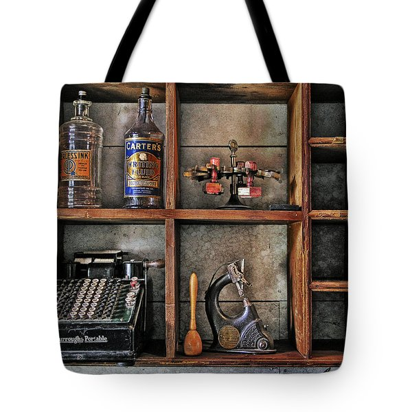 Post Office Tote Bag by Ed Hall