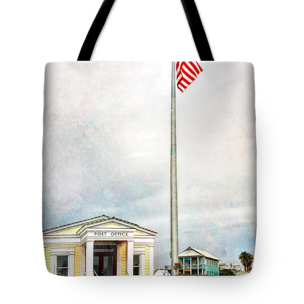Post Office In Seaside Florida Tote Bag