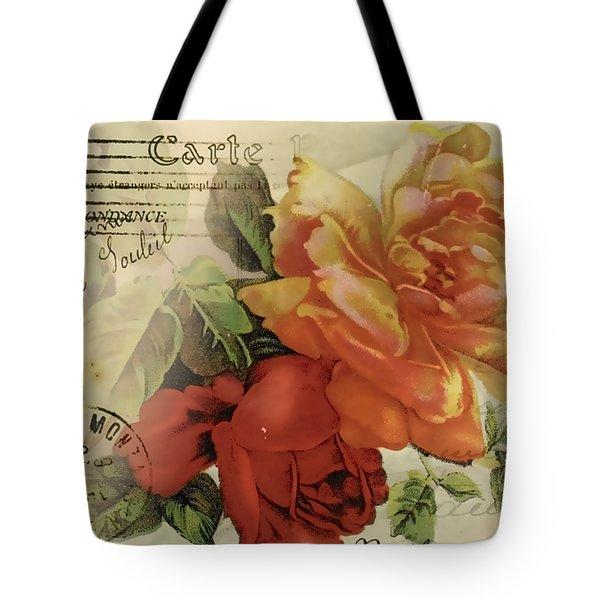 Tote Bag featuring the digital art Postal by Kim Kent